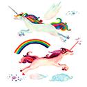 Unicornio volador