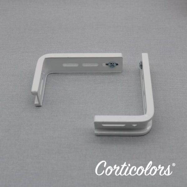 Escuadras para panel japonés y cortina vertical