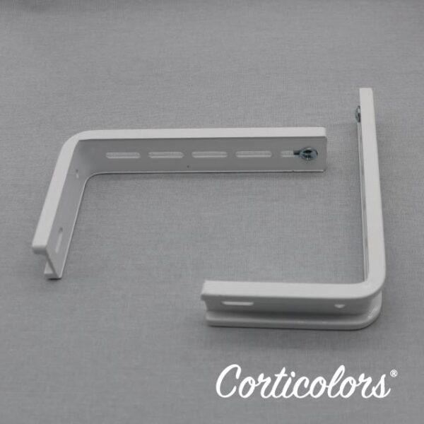 Escuadras para cortina vertical y panel japonés
