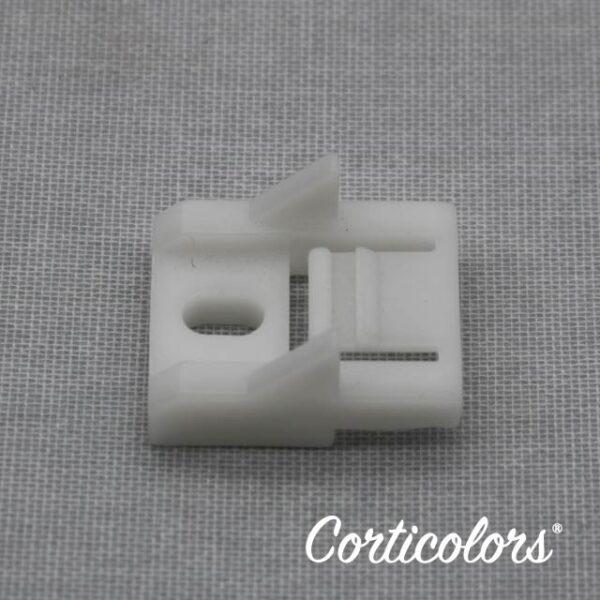 Soporte de riel para cortina manual o sin cordón